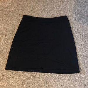 Athleta black skirt large tall (LT)